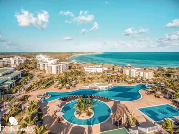 panoramic hotel view - Iberostar Playa Pilar Hotel