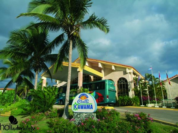 HOTEL FRONT VIEW - Gran Caribe Club Kawama Hotel