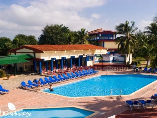 Hotel entrace - Village COSTA SUR Hotel