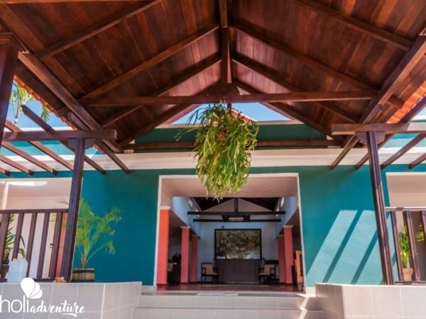Hotel entrace - Cubanacan Trinidad 500 Hotel