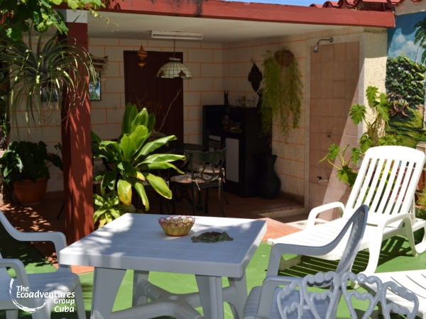 Inside patio view - Casa Rompe Olas