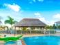 Panoramic hotel & pool view
