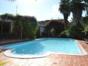 House swiming pool view