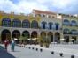 Plaza Vieja square panoramic view, Old Havana