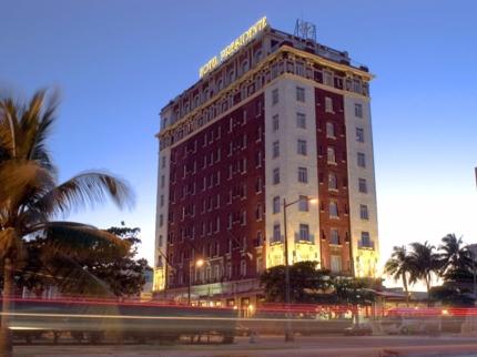 Hotel's panoramic view