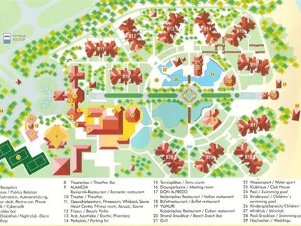 Iberostar Playa Alameda Hotel Map