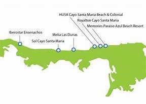 Royalton Cayo Santa María Hotel Map