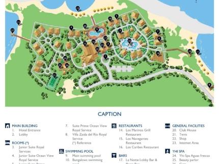 Meliá Buenavista Hotel Map