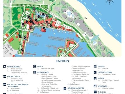 Meliá Marina Varadero Hotel Map