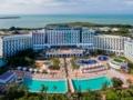 Panoramic hotel view