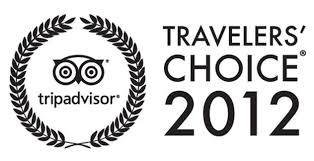 TripAdvisor Travellers Choice 2012 Award