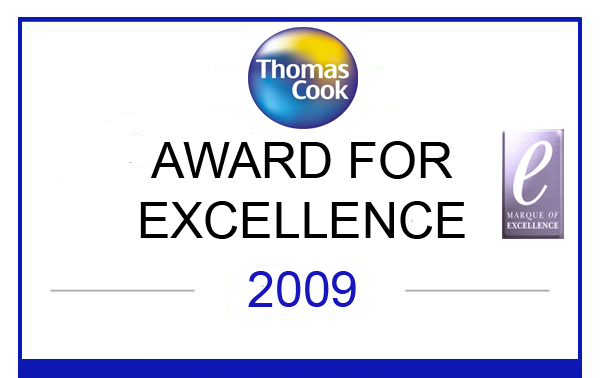 Thomas Cook: Marque of Excellence 2009