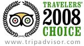 TripAdvisor Travelers Choice 2008.